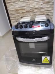 Vendo fogão novo 4 bocas Electrolux inox