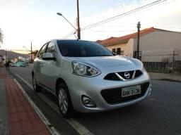 Nissan March 1.6 16V SV Cvt Automático Prata 2018 - 2018