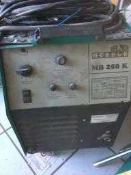 Maquina de solda MIG Balmer 250 comprar usado  Gaspar