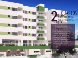 Apartamento 2 quartos com varanda - Mobiliado - Lazer completo - Vila Velha