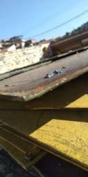 Chapa de ferro  usadas preço R$3,50 Reais o kg