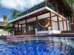 Casa paradisíaca na Praia de Cotovelo, 7 suites, piscina