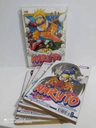Mangás de Naruto e Magi.
