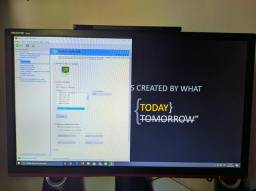 Monitor gamer 144hz 24 polegadas AOC