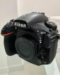 Câmera D810 Nikon full frame