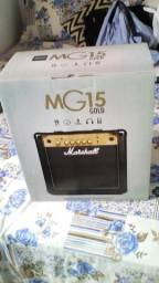 Cubo amplificador Marshall Mg15 gold
