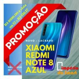 Promoção xaomi redmi note azul 8 r$ 1.099,00 á vista