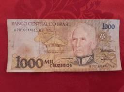 Cédula de Mil Cruzeiros