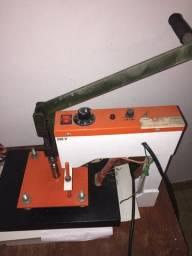Vendo prensa térmica tamanho A4