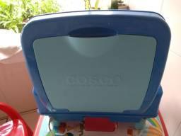 Cadeira para refeição de bebê, Cosco Smart, azul, até 23 kg