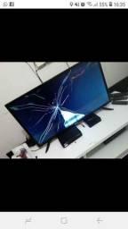 TV 32 polegadas estragada