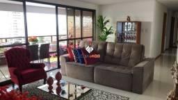 Líder imob - Apartamento Alto Padrão com 4 Suítes, Closet, Varanda gourmet