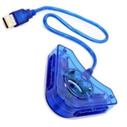 Conversor USB para 2 Controles Ps2