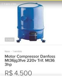 Moto Compressor Danfos MT36JG3FVE 220V Tri.
