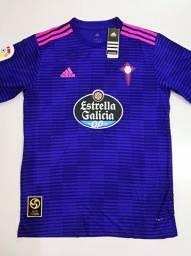 Camisa Celta de Vigo Away Adidas 18/19 - Tamanho: G