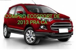 COMPRO ECOSPORT DE 2013 PRA K, QUEM TIVER PRA VENDER PODE ME CHAMAR dinheiro na mão