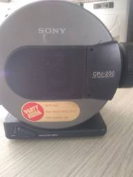 projetor Sony cpj200 com a lâmpada queimada