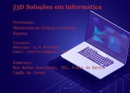Manutenção de Desktops e Notebooks