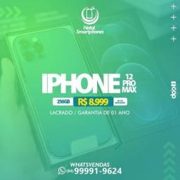 LIQUIDA / IPHONE 12 PRO MAX LACRADO GARANTIA- 12 MESES ( AZUL, PACIFICO )