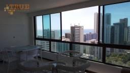Título do anúncio: Flat com 1 dormitório, 57 m² - venda por R$ 490.000,00 ou aluguel por R$ 2.000,00/mês - Bo