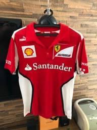 Camisa Ferrari fórmula 1