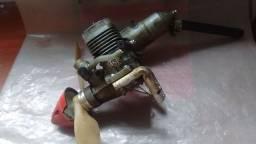 Título do anúncio: Motor glow ASP 25 com spiner hélice e. Vela