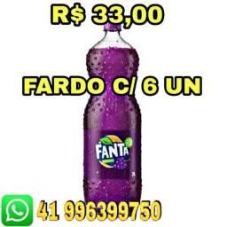 Título do anúncio: fanta uva, distribuidoras de bebidas