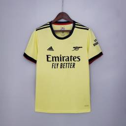Título do anúncio: Camisa II Arsenal 21/22 - Camisas de time futebol pronta entrega