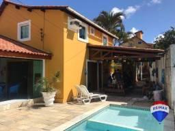 Título do anúncio: Casa em condomínio com 7 com suítes e área de lazer privativa, à venda, 300 m² por R$ 660.