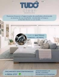 Título do anúncio: Limpeza e Higienização de Estofados