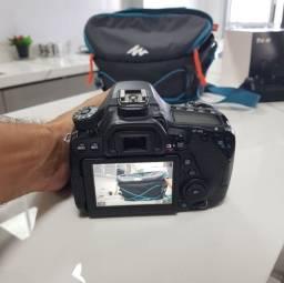 Título do anúncio: Câmera Cânon 80D