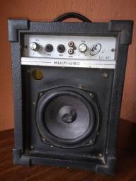 Caixa de som multi-uso amplificada
