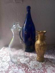 Título do anúncio: Vendo os dois e de brinde a garrafa azul