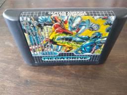 Captain America and The Avengers - Jogo raro Mega Drive cartucho original