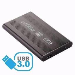 Case Para HD De Notebook 2.5 USB 3.0 Sata External