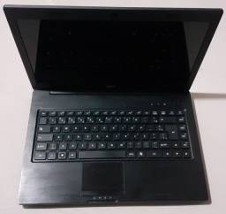 Título do anúncio: Notebook Positivo S2065 4gb 500HD