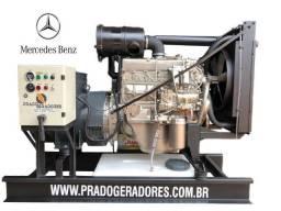 Título do anúncio: Grupo Gerador - Mercedes Benz 352 - 87 Kva