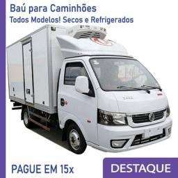 Título do anúncio: Baú Refrigerado e Baú Seco para Caminhão novo/seminovo Modelo: V 238