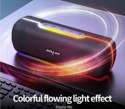 Alto-Falante Portátil Com Bluetooth Zealot S55 Com Efeito De Claro