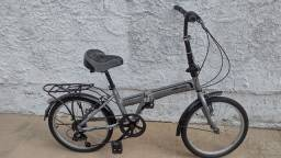 Título do anúncio: Bicicleta dobrável de aluminio