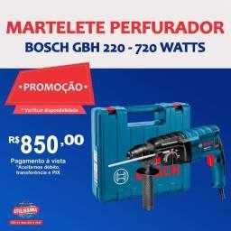 Título do anúncio: Martelete Perfurador Bosch GBH 220, 720 watts