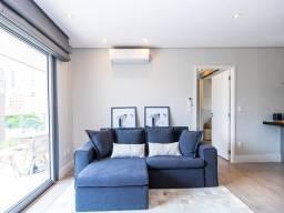 Título do anúncio: Apartamento mobiliado com 77m2, 1 dormitório, 1 vaga, varanda, no Vila Nova Home Design pa