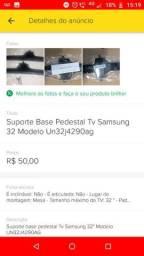 Título do anúncio: Suporte base pedestal tv samsung 32 Un32j4290ag