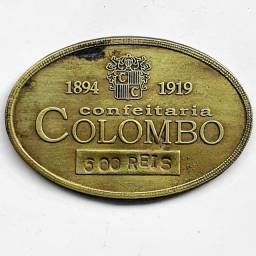 Ficha Da Confeitaria Colombo (Rio De Janeiro)