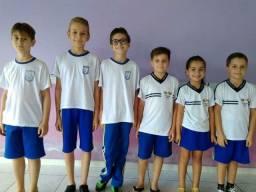 Bermuda Helanca uniforme escolar