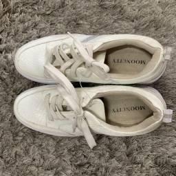 Tenis Branco Novo