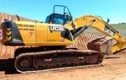Escavadeira JCB 200LC parcelo