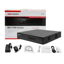 Baixei p vender rápido - Kit de Câmera de Segurança- Hikvision DS-7204 + HD 500mb