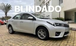 COROLLA XEI 2017 BLINDADO 33000km