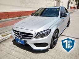 MB C300 17/17 impecável 1 ano de garantia (não é C45 amg BMW 328 330 A4 A6)